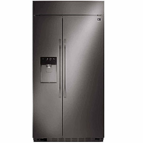 LG STUDIO Ultra-Large Capacity Side-by-Side Built-In Refrigerator with Ice & Water Dispenser