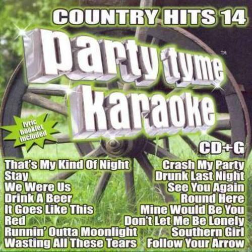 Party tyme karaoke - Party tyme karaoke:Country hits 14 (CD)