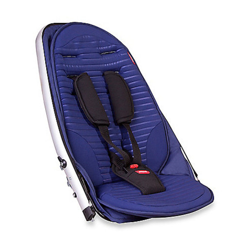 phil&teds Vibe and Verve Stroller Double Kit in Cobalt