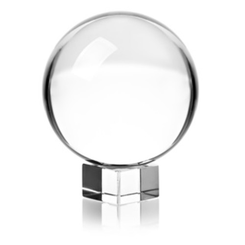 kathy ireland Table Glass Sphere - Table glass sphere