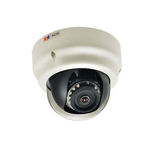 ACTI 3MP Indoor Dome Camera - Night Vision, 1080p, 30 fps, Adaptive IR LED - B53