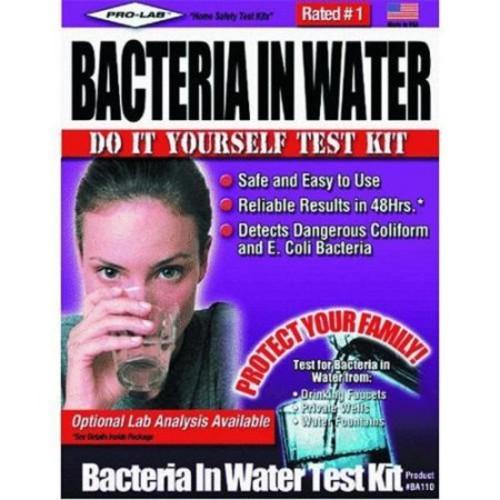 Pro-lab BA110 Bacteria in Water Test Kit