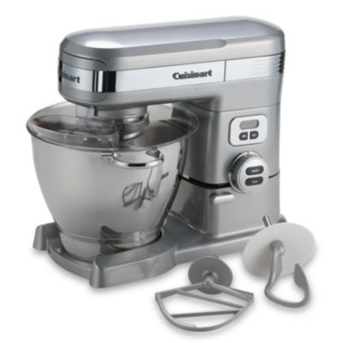 Cuisinart 5.5-Quart Stand Mixer in Brushed Chrome