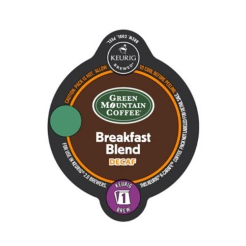 Keurig K-Carafe Pack 8-Count Green Mountain Coffee Breakfast Blend Decaf Coffee