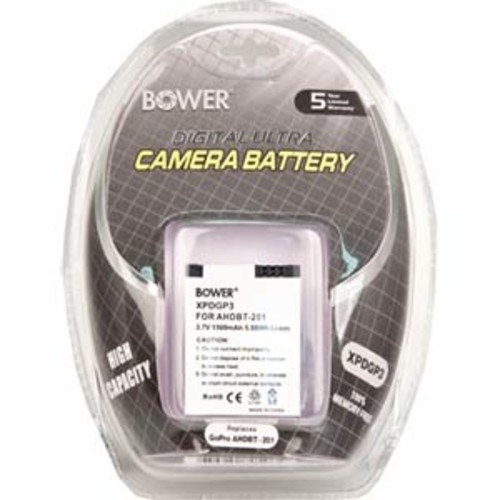 Bower 1500mAh Replacement Battery for GoPro Hero3