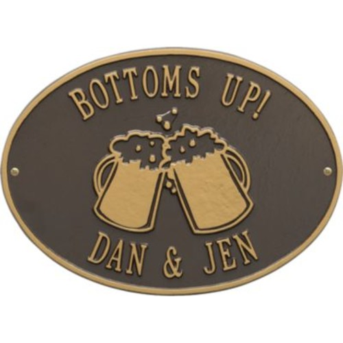 Whitehall Personalized Beer Mugs Plaque