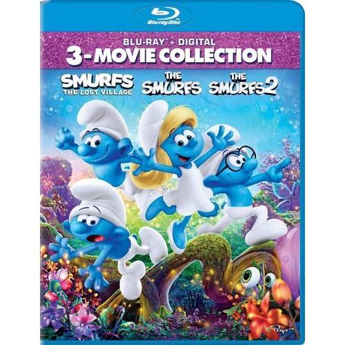 The Smurfs/The Smurfs 2/Smurfs: The Lost Village [Blu-ray]