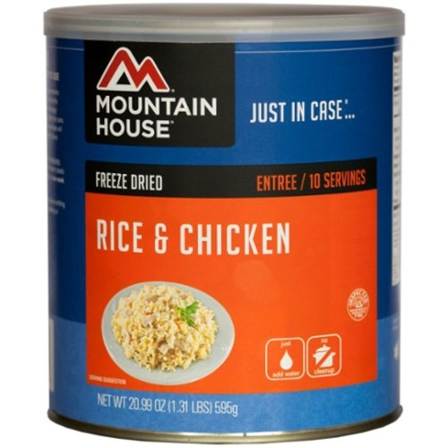 Rice & Chicken - 20 oz. Can