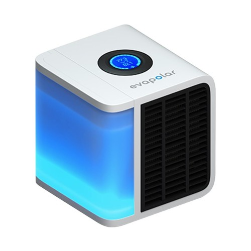 Evapolar - Indoor Portable Evaporative Cooler with Air Humidifier - Crystal white