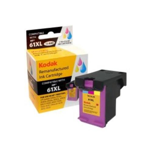 Kodak - High Yield - tricolor - remanufactured - ink cartridge (equivalent to: HP 61XL) - for HP Deskjet 10XX, 15XX, 25XX, Ink Advantage 1515; Envy 45XX, 55XX; Officejet 2620, 46XX