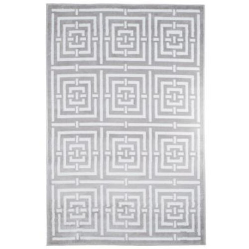Athens Grey 8 ft. x 10 ft. Area Rug