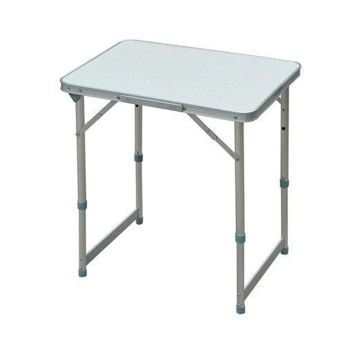 Outsunny Aluminum Folding Camping Table with Carrying Handle