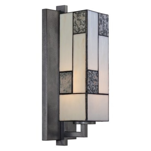 Designers Fountain 84101 Bradley Wall Sconce in Charcoal Finish