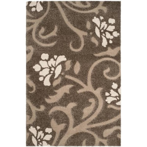 Safavieh Florida Shag Smoke/Beige 8 ft. x 10 ft. Area Rug