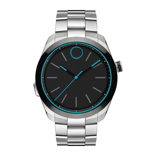 Men's Bold Motion Bracelet Watch, 44mm