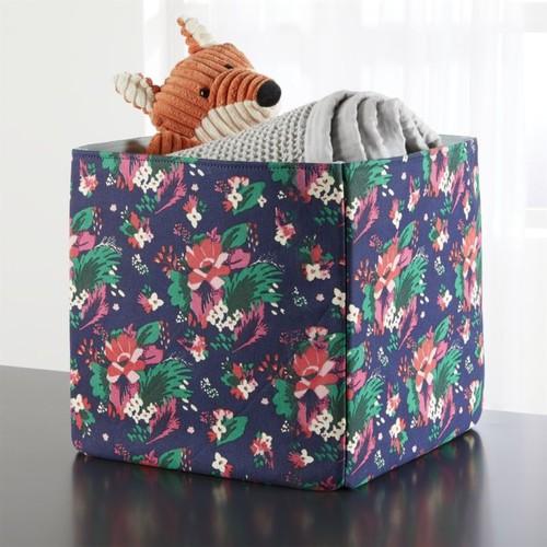 Floral Storage Bin