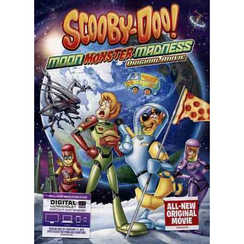Scooby-Doo: Moon Monster Madness DVD