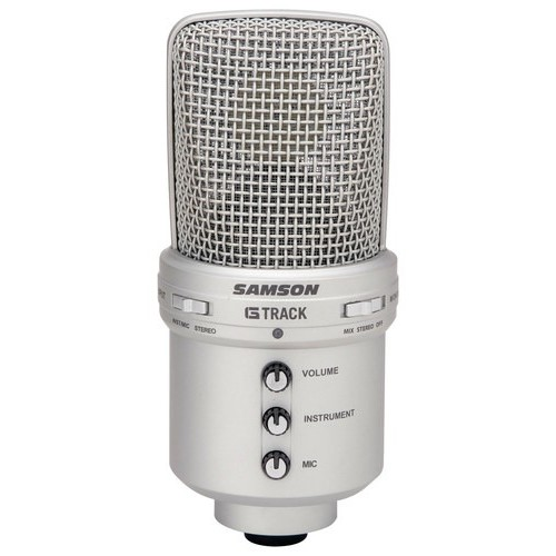 Samson G-Track USB Condenser Microphone with Audio Interface [Microphone]