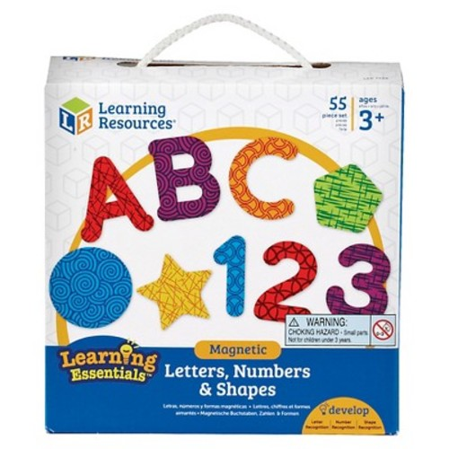 Learning Resources Magnetic Letters, Numbers and Shapes