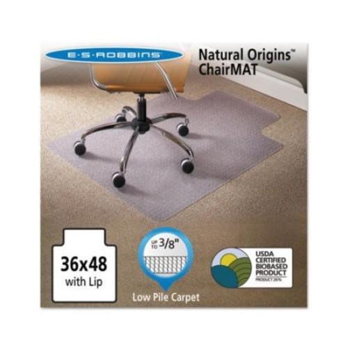 ES Robbins Natural Origins Chair Mat for Carpet 36