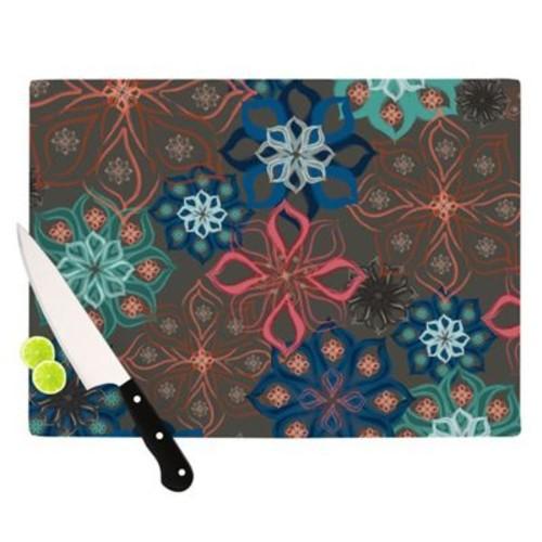 KESS InHouse Floral Arrangements by Jolene Heckman Flowers Cutting Board