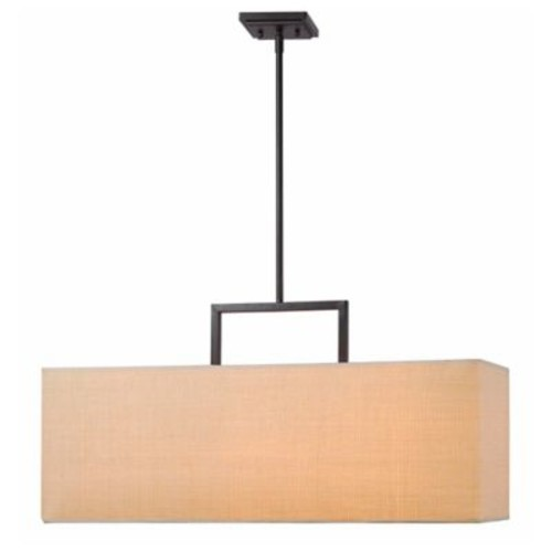 Kenroy Home Emilio 3-Light Pendant in Bronze