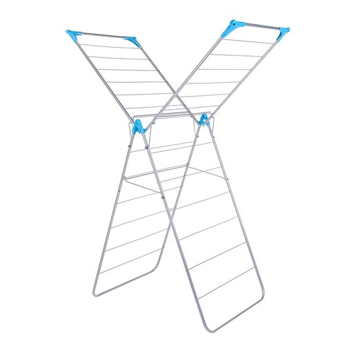 Minky X Wing Indoor Drying Rack - Silver