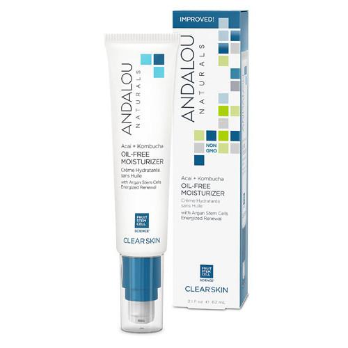 Andalou Naturals Acai + Kombucha Oil-Free Moisturizer -- 2.1 fl oz