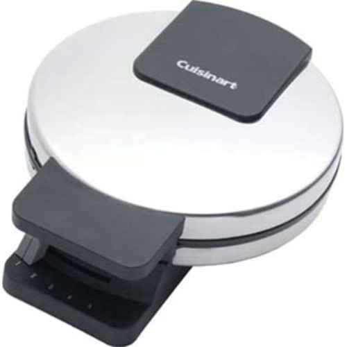 Cuisinart Round Classic Waffle Maker(Refurbished) - Brushed Stainless