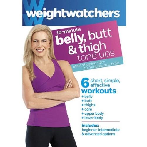 Weight Watchers: 10-Minute Belly, Butt & Thigh Tone Ups