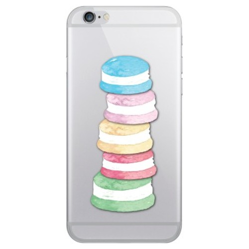 iPhone 6/6S/7/8 Case Plus Hybrid Macaron Stack Clear - OTM Essentials