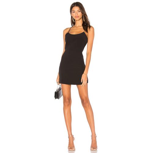 NBD Aria Mini Dress in Black