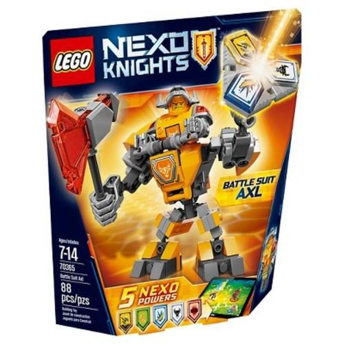 LEGO Nexo Knights Battle Suit Axl 70365 Building Kit (88 Piece)