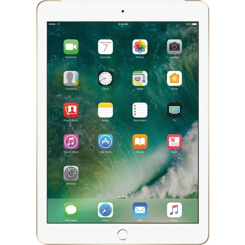 Apple - iPad (Latest Model) with WiFi + Cellular- 128GB - (AT&T) - G