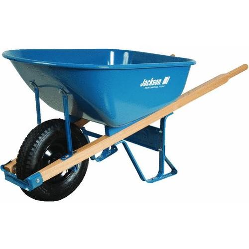 Jackson Professional Flat Free Tire Wheelbarrow - M6FFBB