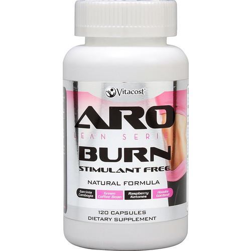 ARO-Vitacost Lean Series Burn - Stimulant Free (Garcinia Cambogia, Raspberry Ketones, and Green Coffee Bean) -- 120 Capsules