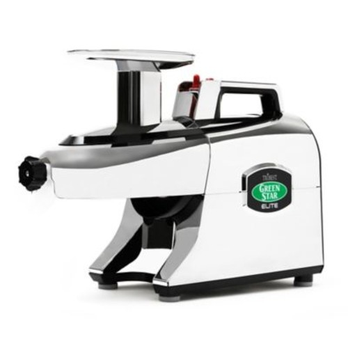 Tribest Greenstar Elite Juicer in Chrome