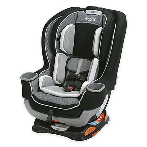 Graco Extended2FitPlatinum All-in-One Convertible Car Seat in Carlen