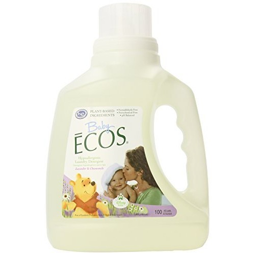 Earth Friendly Products Baby Ecos Laundry Detergent, Lavender and Chamomile, 100 Ounce [Lavender, 100 fl oz]