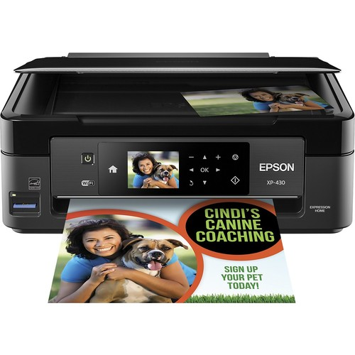 Expression Home XP-430 Small-in-One Inkjet Printer