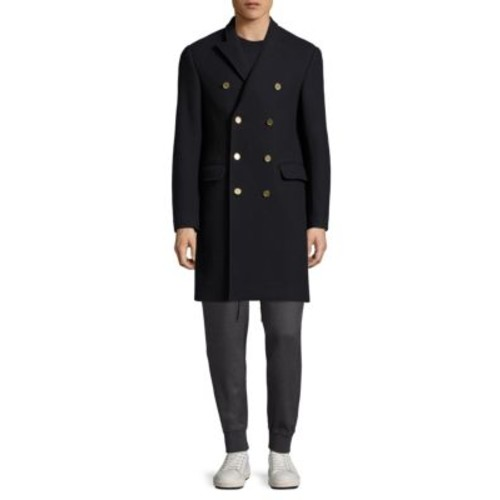3.1 PHILLIP LIM Double Breasted Chesterfield Wool Coat