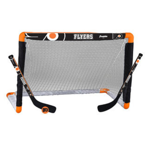 Philadelphia Flyers Franklin Sports NHL Mini Hockey Set - Philadelphia Flyers