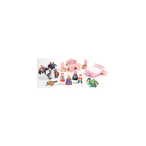 16 Piece Accessory Set for Castle Doll House