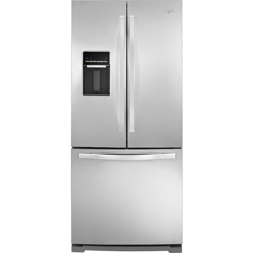 Whirlpool WRF560SEYM 19.5 Cu. Ft. Stainless Steel French Door Refrigerator - Energy Star