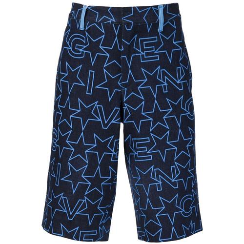 GIVENCHY Denim Bermuda Shorts