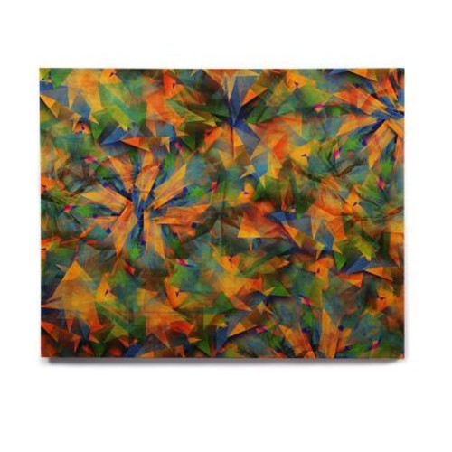 East Urban Home Abstract 'No Way Out' Graphic Art Print on Wood