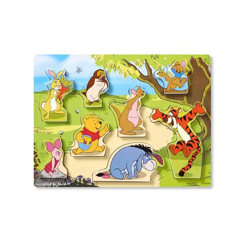 Disney Winnie the Pooh & Friends Chunky Puzzle by Melissa & Doug