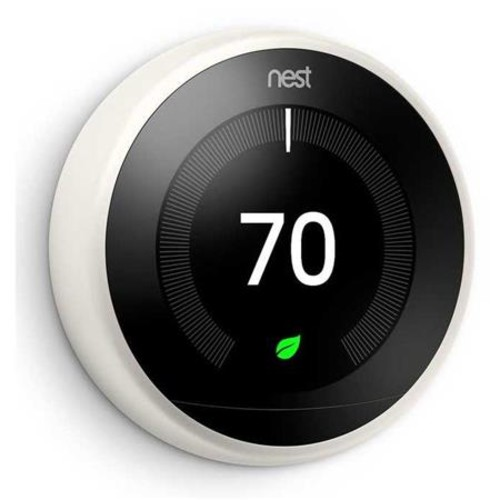 Nest Learning Thermostat, 3rd Generation, White