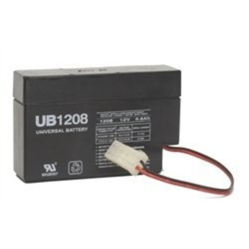 UPG Sealed Lead-Acid Battery - AGM-type, 12V, 0.8 Amps, Model# UB1208 [Misc.]