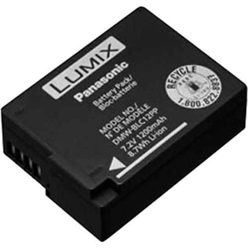 Panasonic - Rechargable Lithium-ion Battery - Black